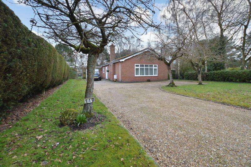 3 Bedrooms Bungalow for sale in 140 Horncastle Road, Woodhall Spa