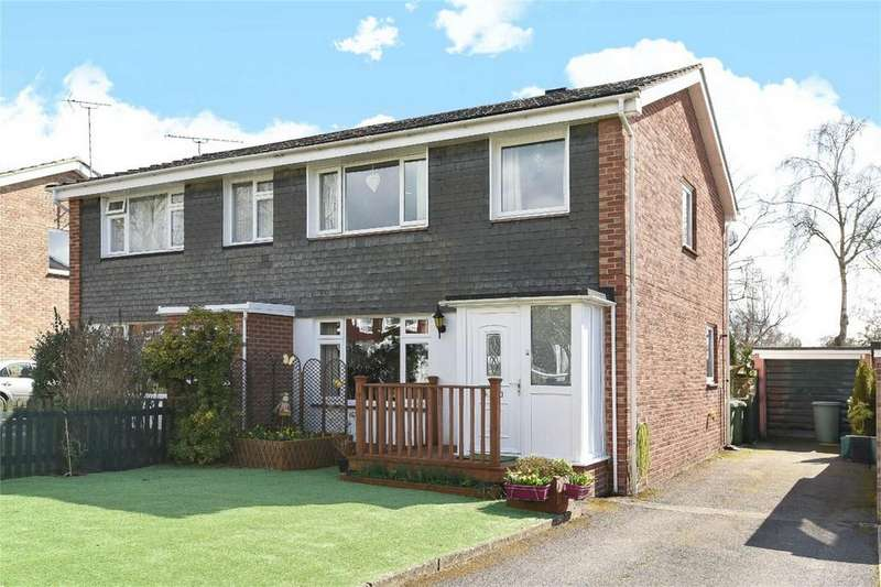 3 Bedrooms Semi Detached House for sale in Ashdown Road, Hiltingbury, Hampshire