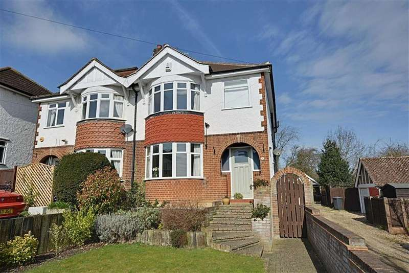 3 Bedrooms Semi Detached House for sale in North Road Avenue, Hertford, Herts, SG14