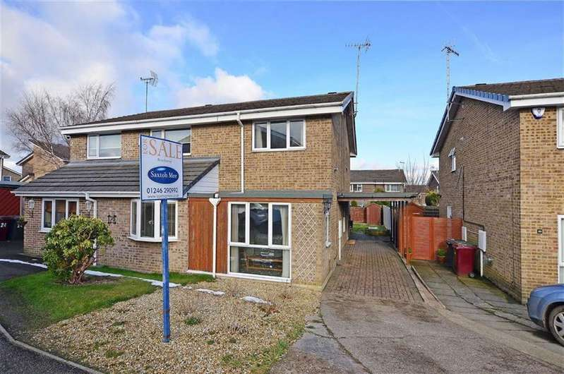 2 Bedrooms Semi Detached House for sale in 22, Bowness Close, Dronfield Woodhouse, Dronfield, Derbyshire, S18