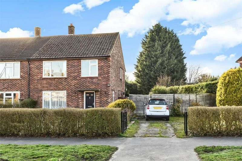 3 Bedrooms Semi Detached House for sale in Bowling Green Road, Chobham, Woking, Surrey