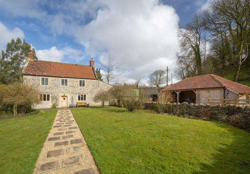5 Bedrooms Unique Property for sale in Prestleigh, Between Castle Cary, Wells and Shepton Mallet
