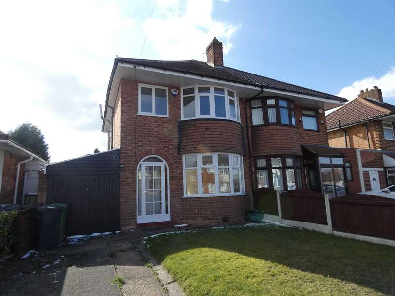 3 Bedrooms Semi Detached House for rent in Marcot Road, Solihull, West Midlands