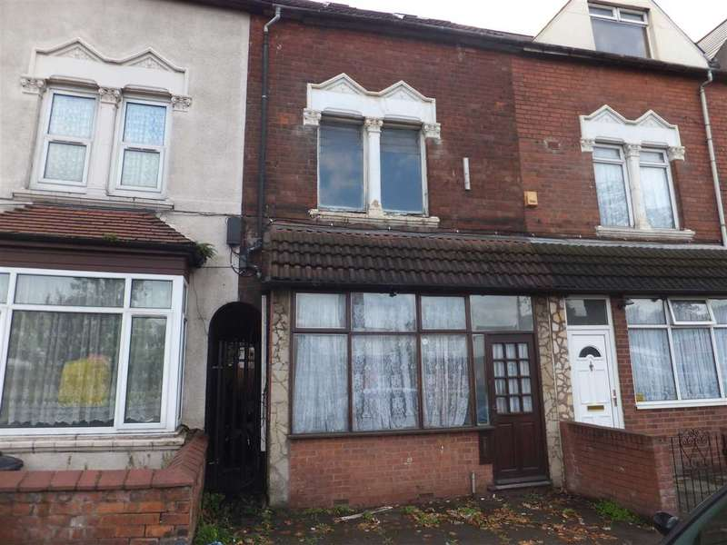 4 Bedrooms Terraced House for sale in Washwood Heath Road, Ward End, Birmingham