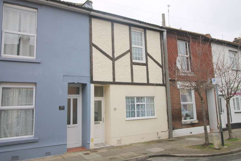 2 Bedrooms Terraced House for sale in Newcome Road, Fratton PO1