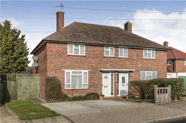 3 Bedrooms Semi Detached House for sale in Giggs Hill, Orpington, Kent, BR5 2SA