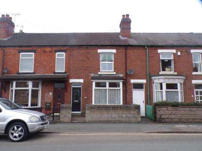 3 Bedrooms Terraced House for sale in Calais Road, Burton On Trent, Staffordshire