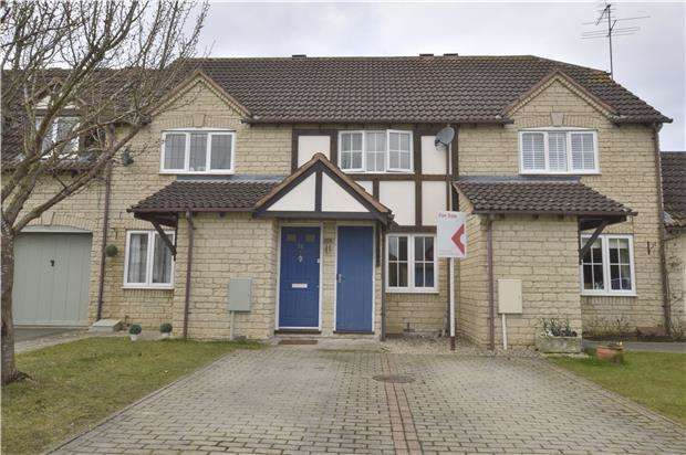 2 Bedrooms Terraced House for sale in Ashlea Meadow, Bishops Cleeve, GL52 7WG