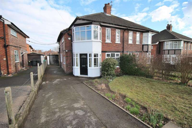 3 Bedrooms Semi Detached House for sale in Bramcote Lane, Chilwell