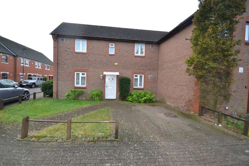 2 Bedrooms End Of Terrace House for sale in Elsworth Close, Bedfont