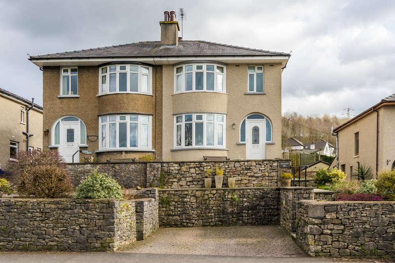 4 Bedrooms Semi Detached House for sale in Pleasant Hill, Parkside Road, Kendal, Cumbria, LA9 7BL