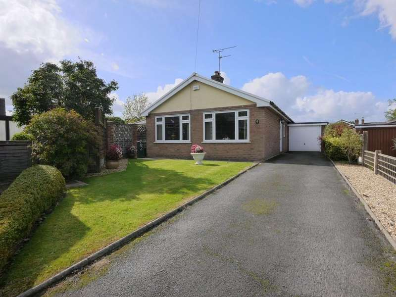 3 Bedrooms Detached Bungalow for sale in 6 Foxhunter Close, Ashton Hayes, CH3 8DH