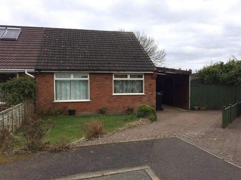 2 Bedrooms Semi Detached Bungalow for sale in Three Ashes Road, Bridgnorth, Shropshire