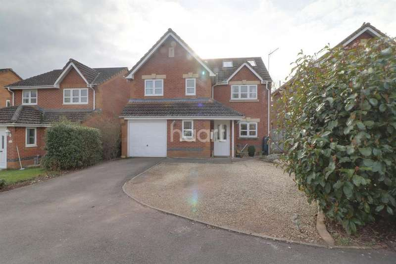 5 Bedrooms Detached House for sale in Trafalgar Close, Monmouth