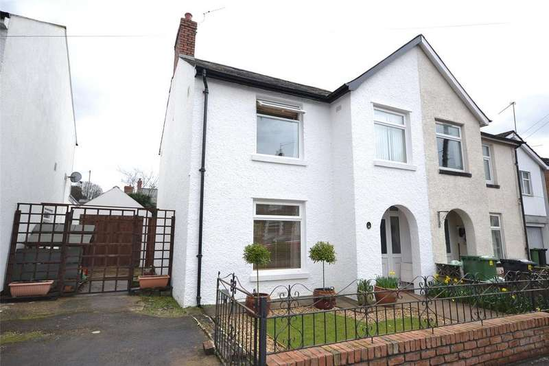 3 Bedrooms Semi Detached House for sale in Conybeare Road, Victoria Park, Cardiff, CF5