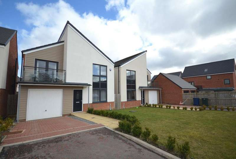 4 Bedrooms House for sale in Newcastle Great Park