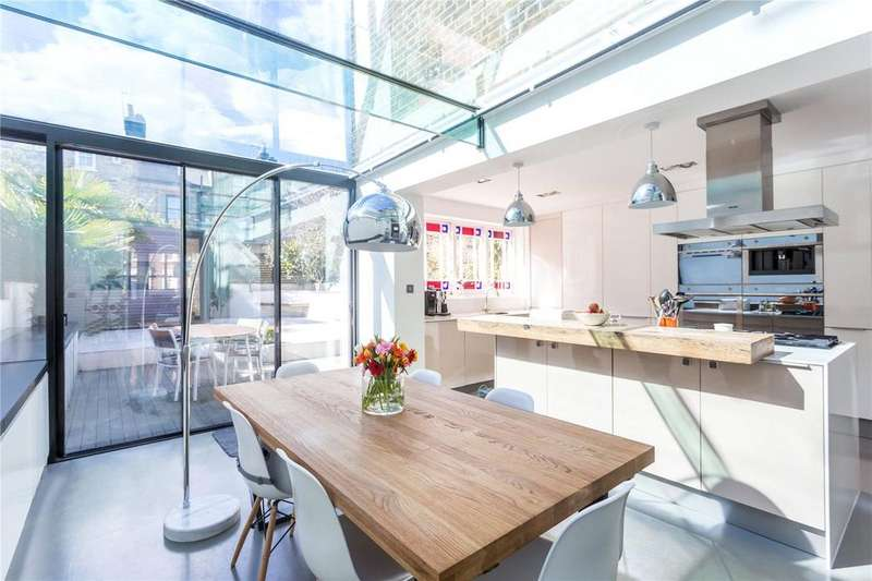 4 Bedrooms Semi Detached House for sale in Ferme Park Road, London, N8