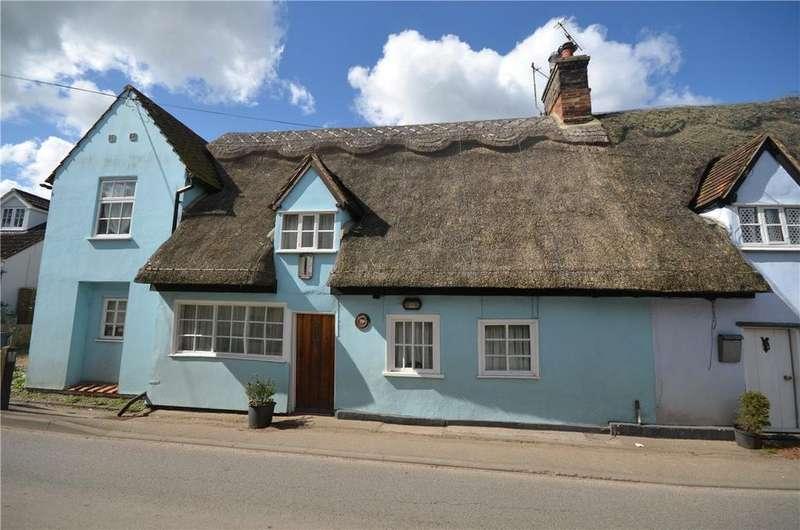 3 Bedrooms End Of Terrace House for sale in Frogge Street, Ickleton, Saffron Walden, Essex, CB10