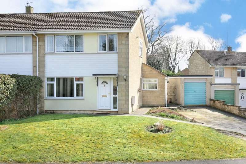 3 Bedrooms Semi Detached House for sale in Leystone Close, Frome