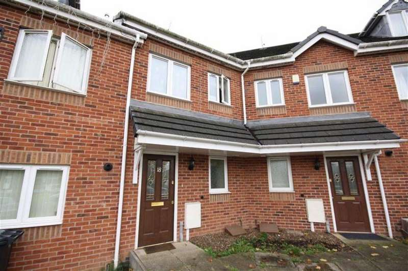 3 Bedrooms Town House for sale in Wenlock Court, Stockingford, Nuneaton