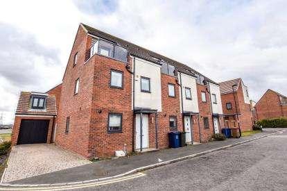 3 Bedrooms Terraced House for sale in Prendwick Avenue, Great Park, Newcastle Upon Tyne, Tyne and Wear, NE13