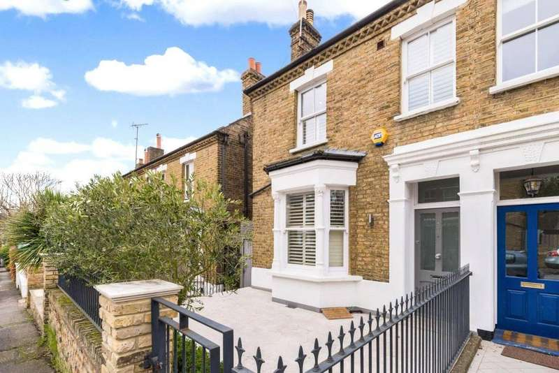 4 Bedrooms Semi Detached House for sale in Chisholm Road, Richmond, Surrey, TW10