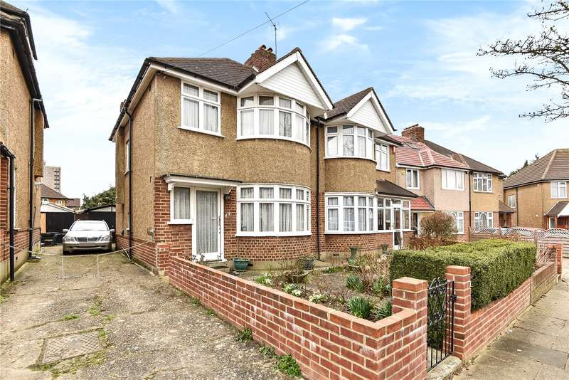 3 Bedrooms Semi Detached House for sale in Danemead Grove, Northolt, Middlesex, UB5
