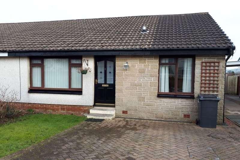 2 Bedrooms Semi Detached Bungalow for sale in Hazelfield Close, Dumfries, DG1
