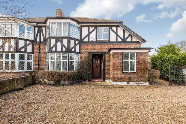 4 Bedrooms Semi Detached House for sale in Worcester Park, Surrey, .