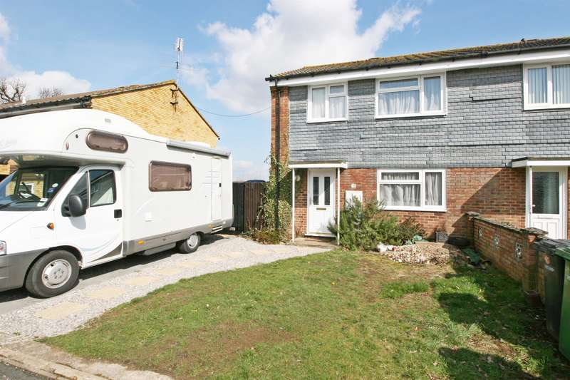 3 Bedrooms Semi Detached House for sale in Heath Gardens, Netley Abbey, Southampton, SO31 5FL