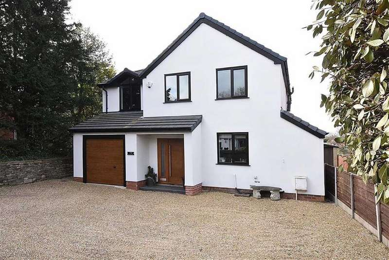 4 Bedrooms Detached House for sale in Byrons Lane, Macclesfield