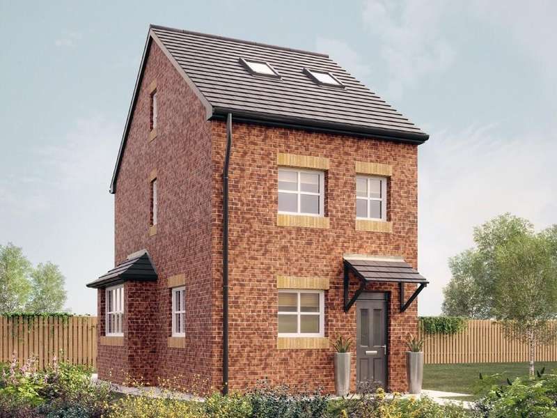 3 Bedrooms Semi Detached House for sale in The Burnaby, Woodhouse Vale, Pepper Road, Leeds