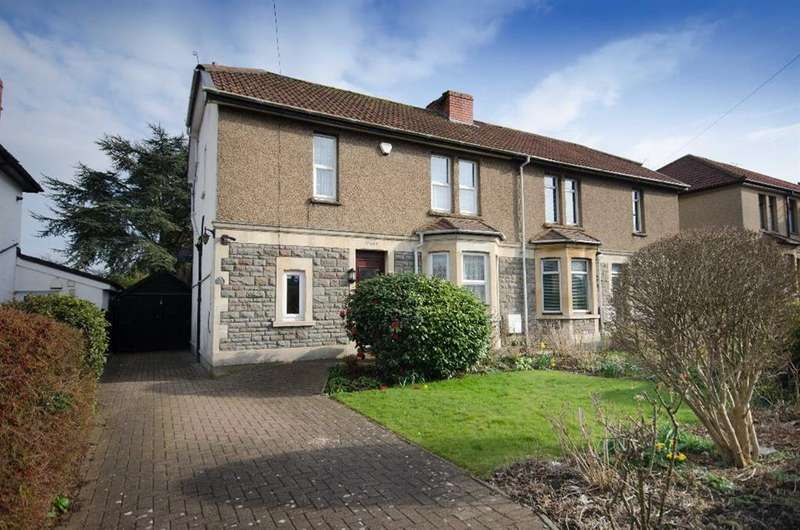 3 Bedrooms Semi Detached House for sale in Church Road, Soundwell, Bristol, BS16 4RQ