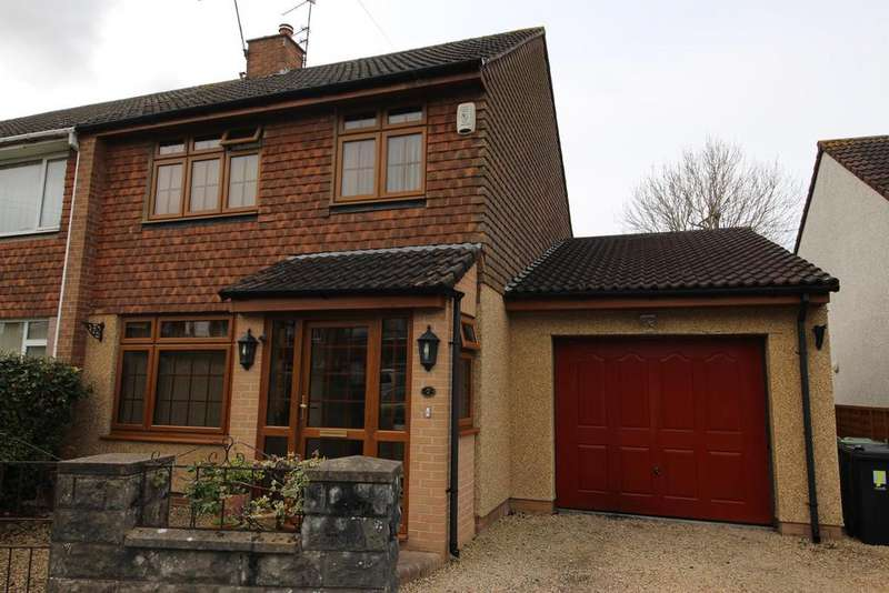 3 Bedrooms Semi Detached House for sale in Kingston Close, Mangotsfield, Bristol, BS16 9BH