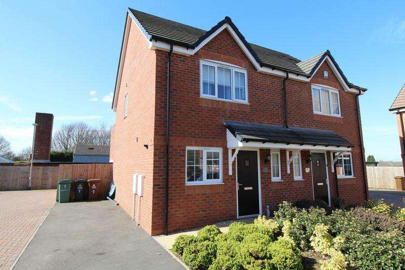 3 Bedrooms Semi Detached House for sale in The Courtyard, Walsall Wood