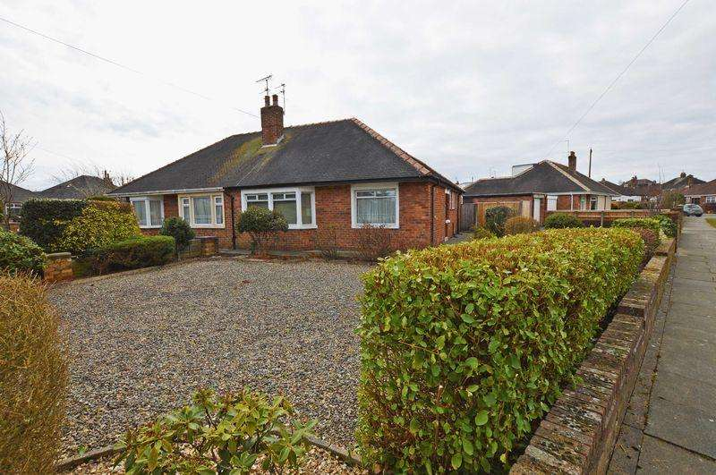 2 Bedrooms Semi Detached Bungalow for sale in Caldervale Avenue, Poulton-Le-Fylde, FY6 7DZ