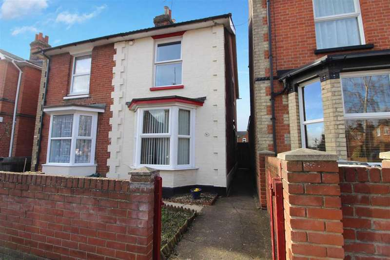 3 Bedrooms Semi Detached House for sale in Brooks Hall Road, Ipswich
