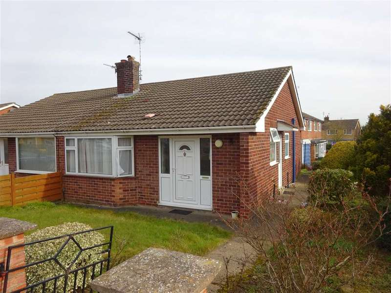2 Bedrooms Semi Detached Bungalow for sale in Sussex Road, Badger Hill. York