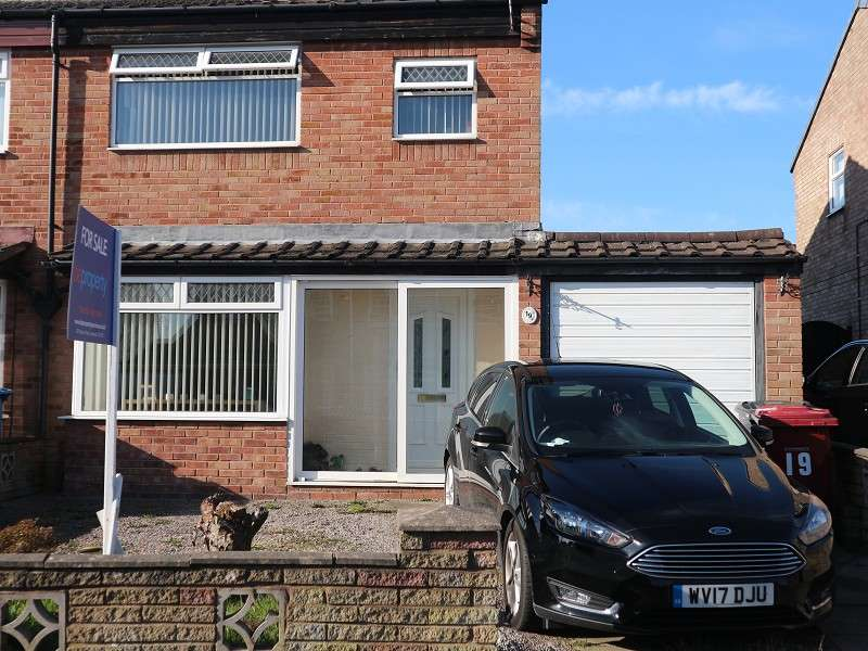 3 Bedrooms Semi Detached House for sale in Talland Close, Liverpool, Merseyside. L26 7YA