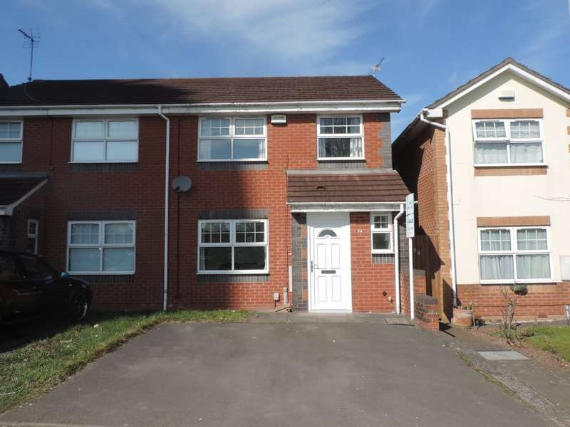 3 Bedrooms Semi Detached House for sale in Milton Grove, Stafford, Staffordshire ST17