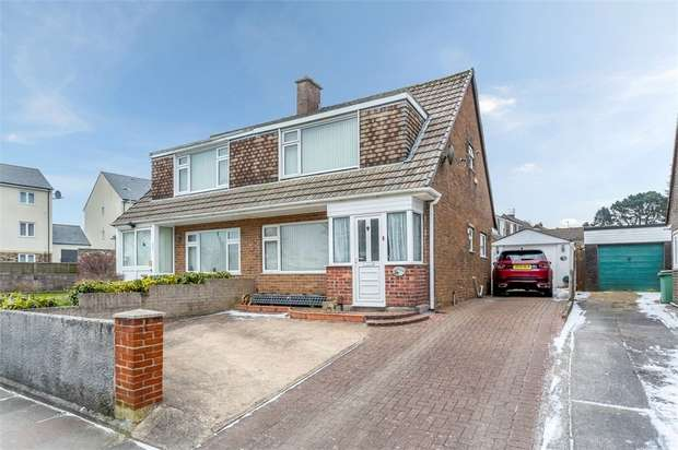 3 Bedrooms Semi Detached House for sale in Clittaford Road, Plymouth, Devon
