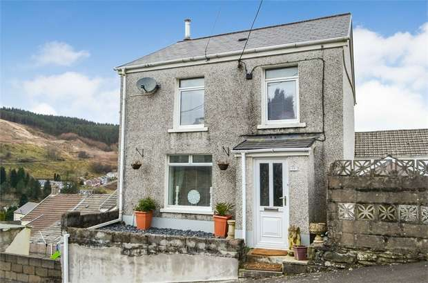 3 Bedrooms Detached House for sale in Blandy Terrace, Pontycymer, Bridgend, Mid Glamorgan