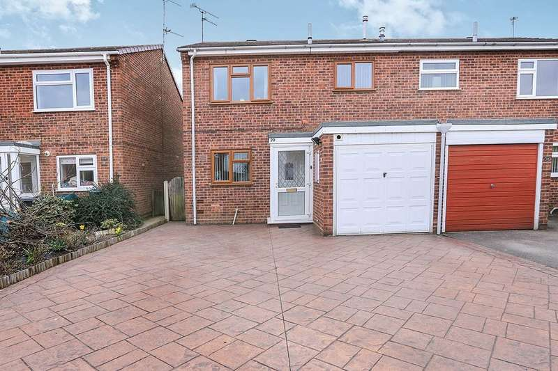 3 Bedrooms Semi Detached House for sale in Benson Close, Perton, Wolverhampton, WV6