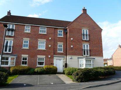 2 Bedrooms Flat for sale in Alonso Close, Chellaston, Derby, Derbyshire