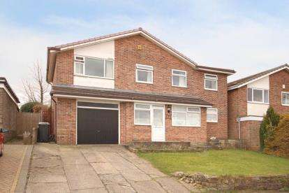 5 Bedrooms Detached House for sale in Cavendish Rise, Dronfield, Derbyshire
