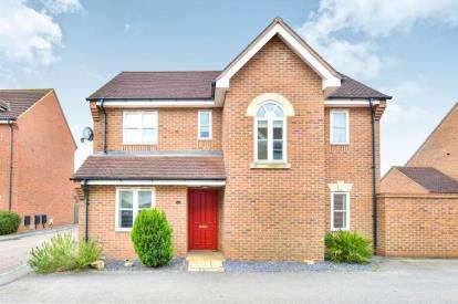4 Bedrooms Detached House for sale in Brantwood Close, Westcroft, Milton Keynes
