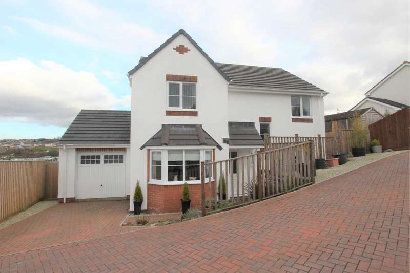 4 Bedrooms Detached House for sale in Whiting Close, Bideford
