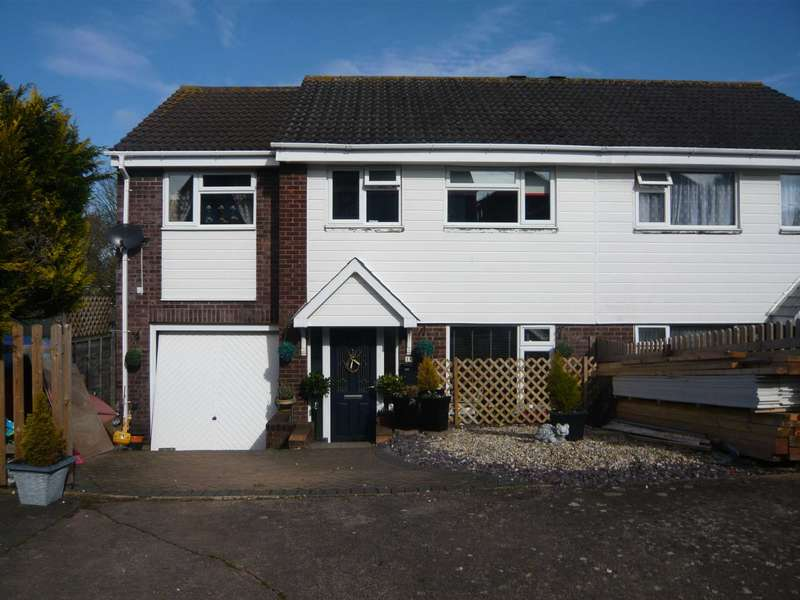 4 Bedrooms Semi Detached House for sale in Bradford Close, Exmouth