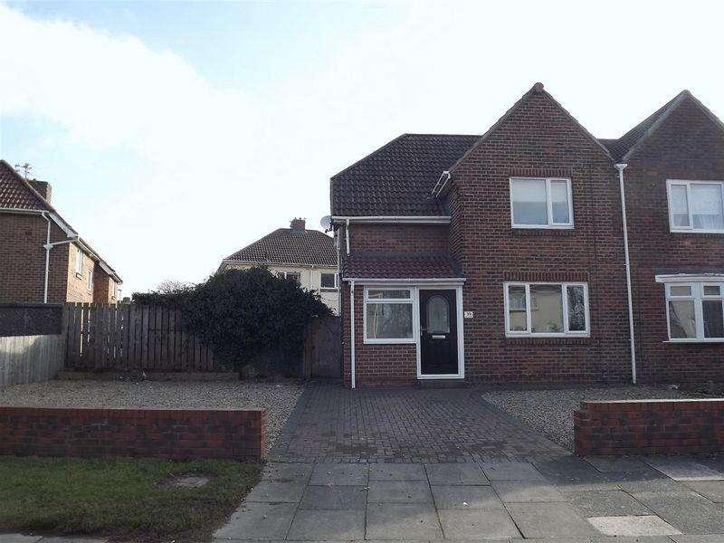 3 Bedrooms Semi Detached House for sale in Blagdon Crescent, Cramlington