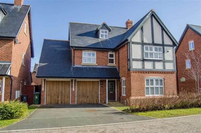 5 Bedrooms Detached House for sale in Crawford Close, Saighton, Chester, Chester